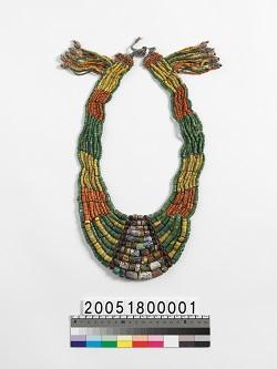 排灣族複串琉璃珠項飾