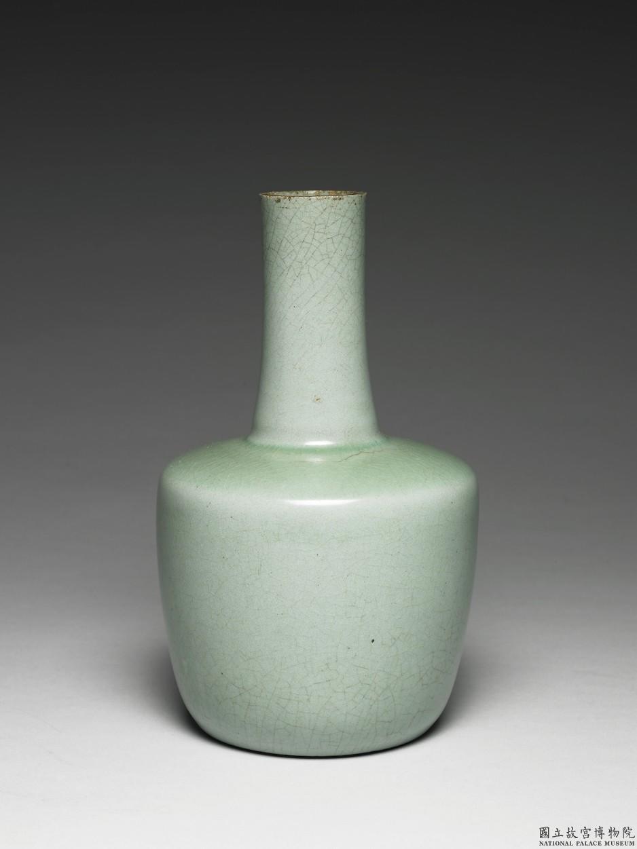 北宋 汝窯 青瓷紙槌瓶